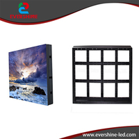 Iron Material Customized Size Simple Cabinet Used For Indoor Outdoor LED Modules