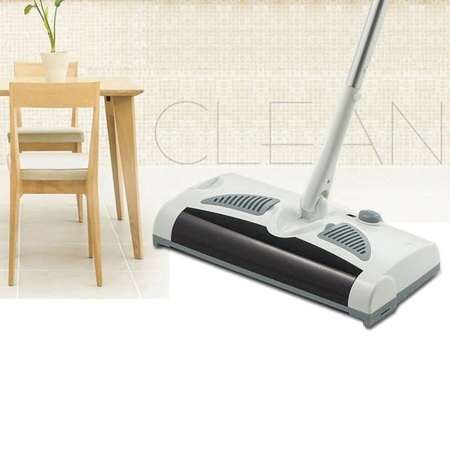 Electric Robot Cleaner 2 In 1 Swivel Cordless Drag