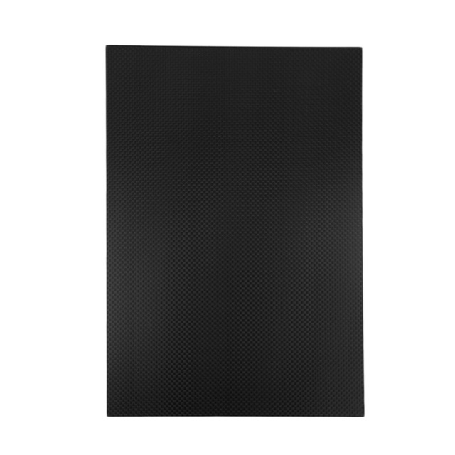 300*200*3mm Full Carbon Fiber Plate Panel Sheet Plain Weave Matt Surface New Hot!