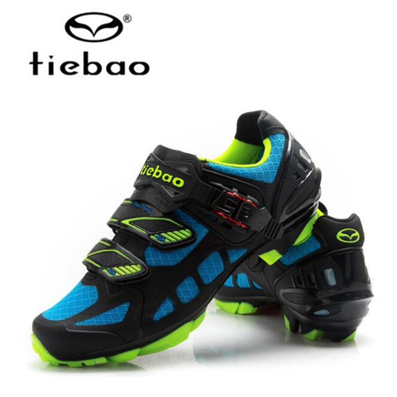 Tiebao MTB Cycling Shoes 2017 Professional Men Sneakers Women Mountain Bike Self-locking Shoes Breathable Bycle Athletic Shoes double collar designed jacket earthy size l