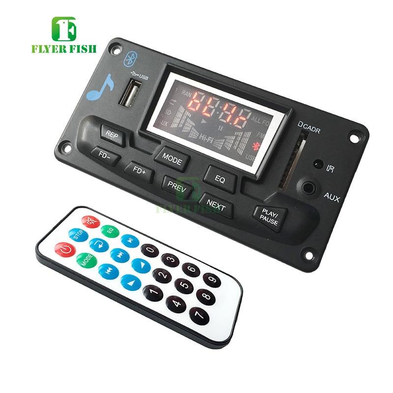 Image 2 - Bluetooth led música áudio indicador de espectro ape mp3 placa nível indicador vu medidor velocidade flac wma receptor fm módulo app no carroCircuitos integrados   -