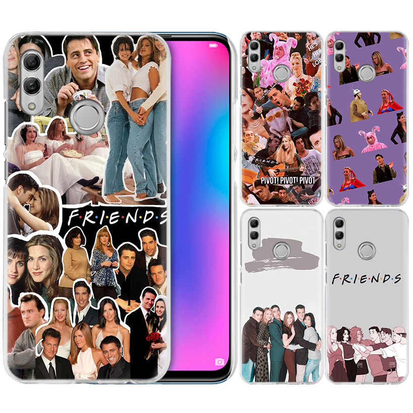 Amigos TV Show Case for Huawei Honor 8X Y9 9 10 Lite Jogar 7C 8C 8A 7 8 S S 7A Pro V20 20i Y6 Y7 Y5 2019 Disco PC Tampa Do Telefone Coque