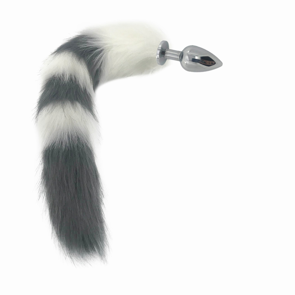 Ponytail buttplug