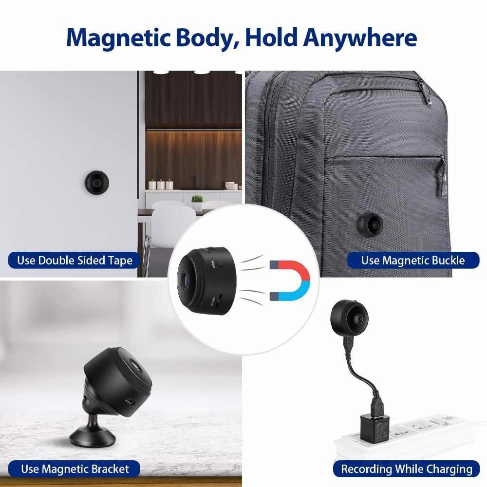 Wi-Fi мини-камера 1080P HD беспроводная скрытая камера ночного видения микро-видеокамеры для домашнего офиса отеля безопасности няня камера видео рекордер