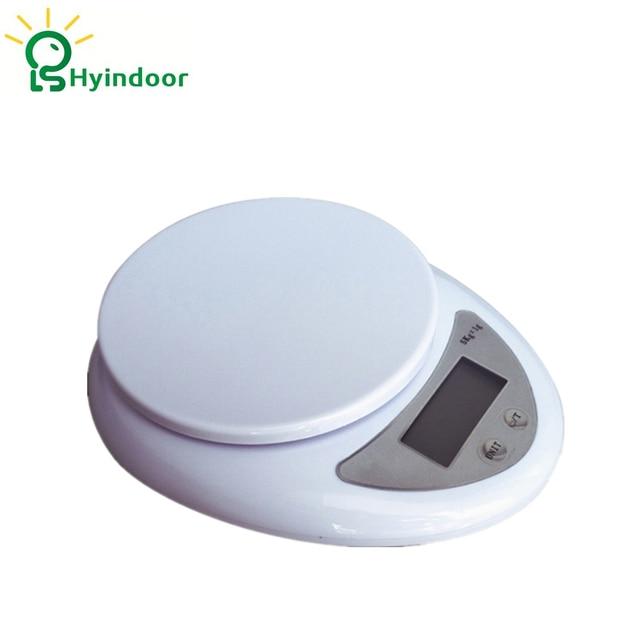 5kg/1g Digital LCD Electronic Kitchen Postal Scales Food Diet Postal Kitchen  Scale Electronic Weighing