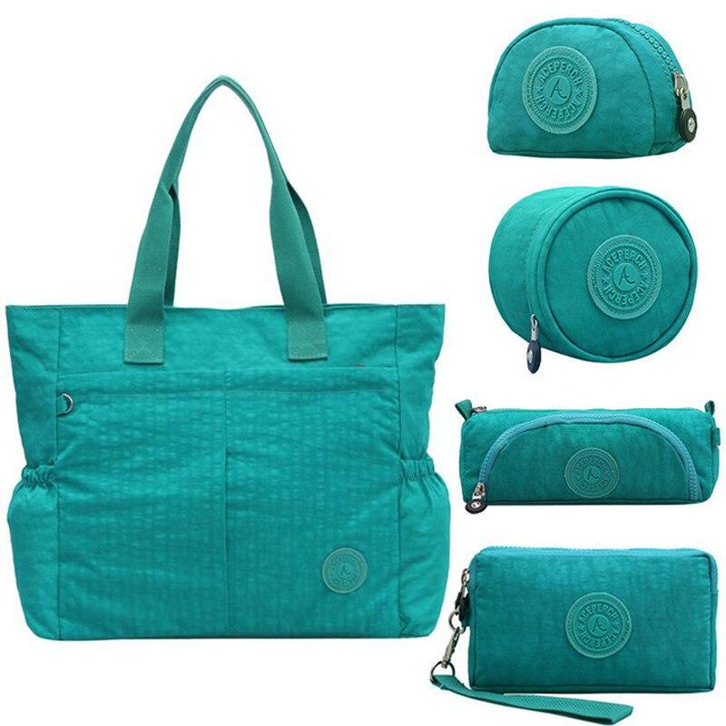 42e5e5b33e96 ACEPERCH повседневное для женщин нейлоновая сумка большая дамские сумочки и  кошельки дамы руки сумки Crossbody Сумка