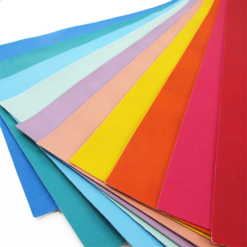 David accessories 20*34cm Plain coloured Faux Synthetic Leather Fabric For Sewing, DIY Hairbow Bag Shoes Material,56368