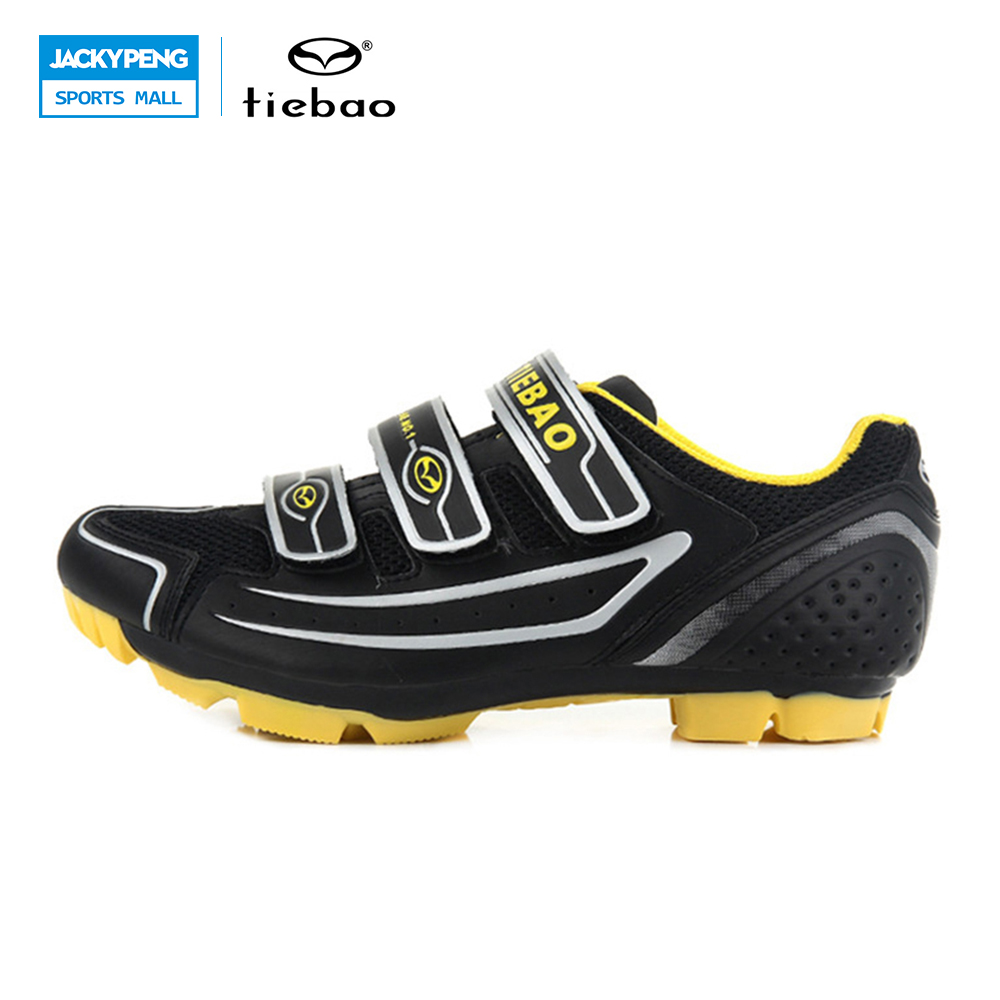 New 2014 Unisex Tiebao Bicycle Cycling Shoes for Mountain Bike Racing Athletic Shoes MTB Cycling Shoes Nylon-fibreglass Soles