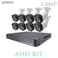 FL AKT1008DHB 8CH DVR 720P HDMI CCTV System Video Recorder 8PCS Home Security Waterproof Night Vision