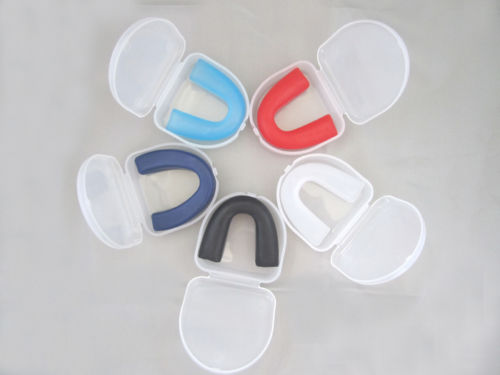 Free Shipping 2PCS/Lot Silicone Night Teeth Grinding Mouth Guards Stop Bruxism Dental HOT NEW
