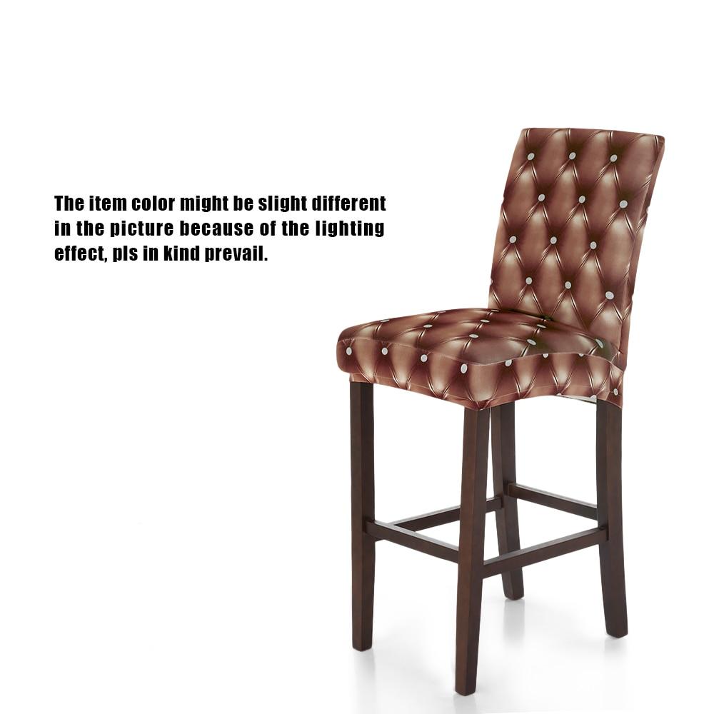 4 Color Universal Elastic Cloth Chair 3D Printing Chair Covers Elastic  Spandex Chair Cover Home Ceremony