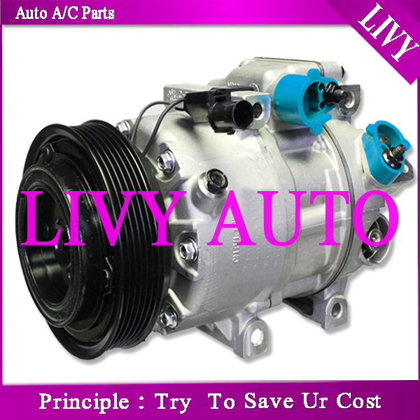 1 Year Warranty Reman 97371 AC Compressor Fits 2006-2011 Kia Rio /& Rio5