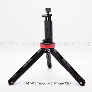 Image 5 - Легкий штатив для камеры, компактный алюминиевый Трипод, настольный мини Трипод с шаровой головкой для цифровых зеркальных камер Canon, Nikon для телефона