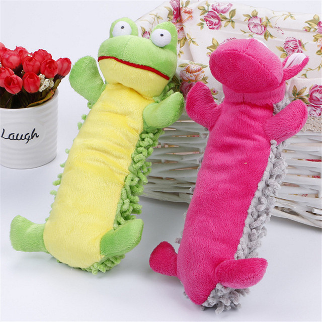 Surprise Price Pet Toys Puppy Dog Toy Plush Sound Squeaky Squeaky Shape Toy Animal Chew different Kinds Patterns Pet Dod Cat TOY 3