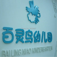 Outdoor Advertising PVC Signs 3D Letters Customized