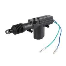 Alarme de carro Sistema de Travamento Central DC 12 v 2 Fio Preto Poder Door Lock Atuador Automático Acessórios Do Carro