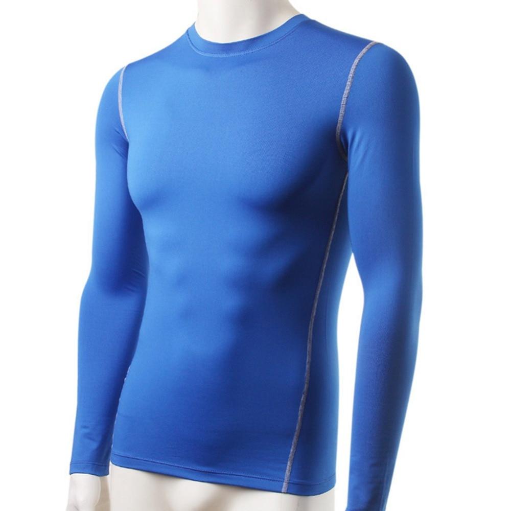 Hombres de peluche Base Layer Ropa interior térmica Camiseta de - Ropa de hombre