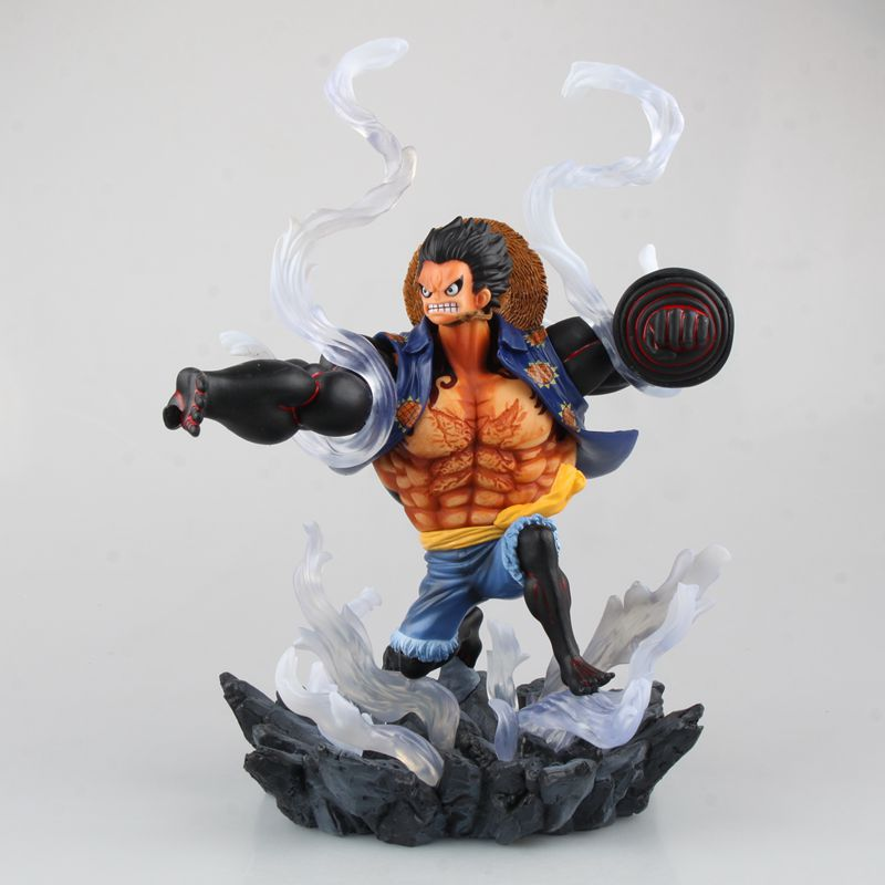 anime one piece Straw Hat luffy Gear model garage kit pvc action figure classic collection variable action toy doll vogue classic anime comic eiichiro oda one piece straw hat pirates franky cutty flam cola man pvc figure toys new loose