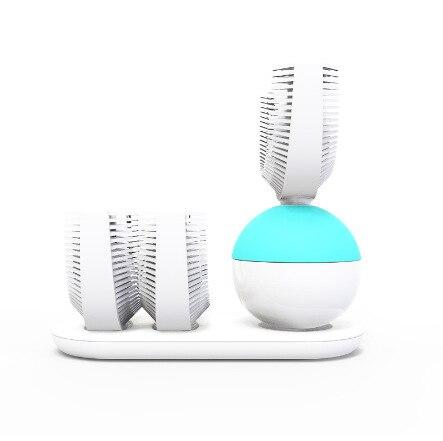 360 brosse à dents automatique brosse à dents électrique Ultra sonique brosses à dents sonique brosse à dents électrique Rechargeable blanc bleu nouveau - 3