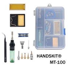 Handskit Gas Soldering Iron MT 100 Electric Soldering Iron Gun Blow Torch