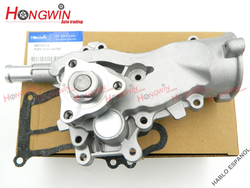 Genuine No 55579016 Engine Water Pump For Buick Encore Chevrolet Sonic Cruze 2011 2012 2013 2014