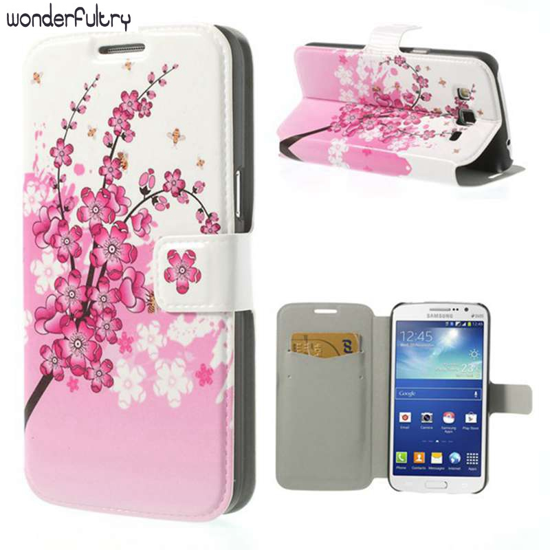 Wonderfultry Capa Cases Patterns Beautiful Flip PU Leather