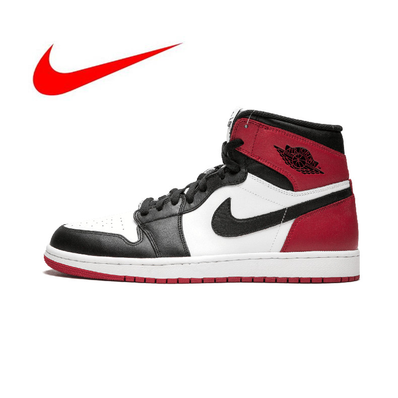 27e72c8920314 New Arrival Authentic Original Nike Air Jordan 1 OG Retro Royal AJ1 Men s  Breathable Basketball Shoes Sports Sneakers -in Basketball Shoes from  Sports ...