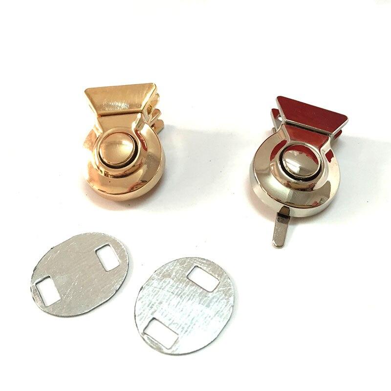 30mm X 20mm Latch Lock Round Press Down Lock Push Lock Handbag Lock