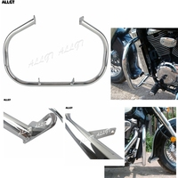fit for SUZUKI VL800 VOLUSIA C50 M50 Chrome Engine Guard Crash Bar Highway Engine Bar Motorcycle