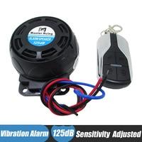 12v Motorcycle Alarm Speaker Remote Start Wireless Anti Theft Burglar Security System
