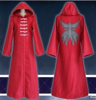 Anime Tokyo Ghoul Aogiri Tree Organization Kirishima Ayato Cosplay Costumes Hooded Cloak Red Long Cape Robe