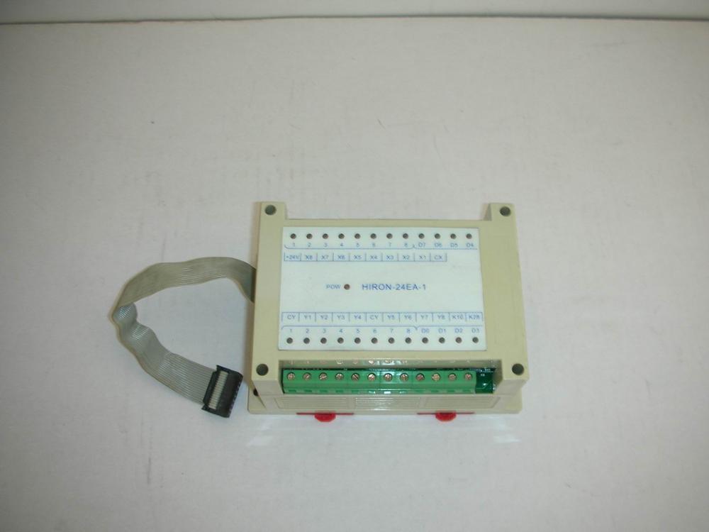1PC USED Controller HIRON-24EA-1 1pc used plc6es5 431451464