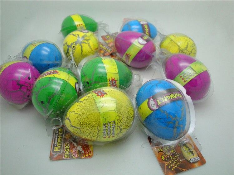 5 UNIDS / LOTE Bebés Divertidos Grandes Huevos de Dinosaurios de Los - Nuevos juguetes y juegos - foto 5
