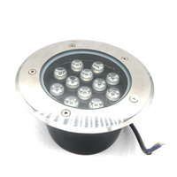 2019 LED high quality hot sell 12W AC85 265V IP67 outdoor underground lamps RGB warm white cool white