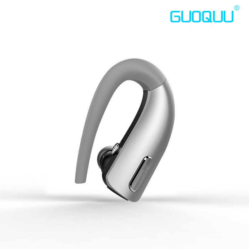 Guoquu F500 Handsfree Business Bluetooth Headphone with Mic Voice Control Wireless Bluetooth Headset for Drive Noise Cancelling a01 bluetooth headset v4 1 wireless headphones noise cancelling with mic handsfree earpiece for driving ios android