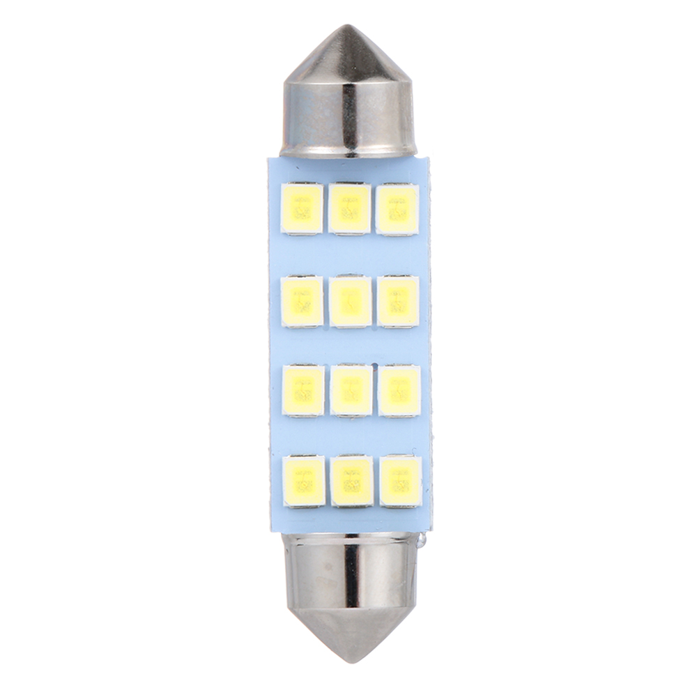 Automobiles & Motorcycles 10 X 41mm 12 Smd Led Car Interior Festoon Dome Bulb Lamp Light 12v 2.5*1*4.1cm Atv,rv,boat & Other Vehicle