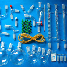 24/40, 35 шт, продвинутый органический химический стеклянный набор посуды, лабораторный стеклянный блок