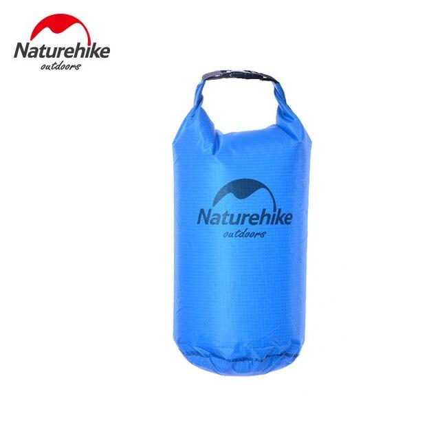 Naturehike 5L 10L 20L Lghtweight Waterproof Dry Bag Storage Bag for Camping Rafting Sports Kayaking Canoeing Swimming Dry Sack 3