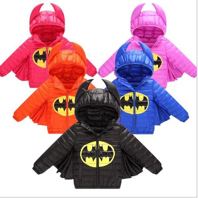 746a8742b US $15.94 30% OFF children jacket coat,baby boy and girls winter fashion  cartoon batman hooded warm outerwear,Christmas Halloween clothing-in  Jackets ...