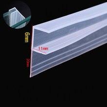 Газа Excluder уплотнитель проект пробка 6 мм Стекло скользя Экран раздвижные створки Душ уплотнения двери окна 5 м большой F