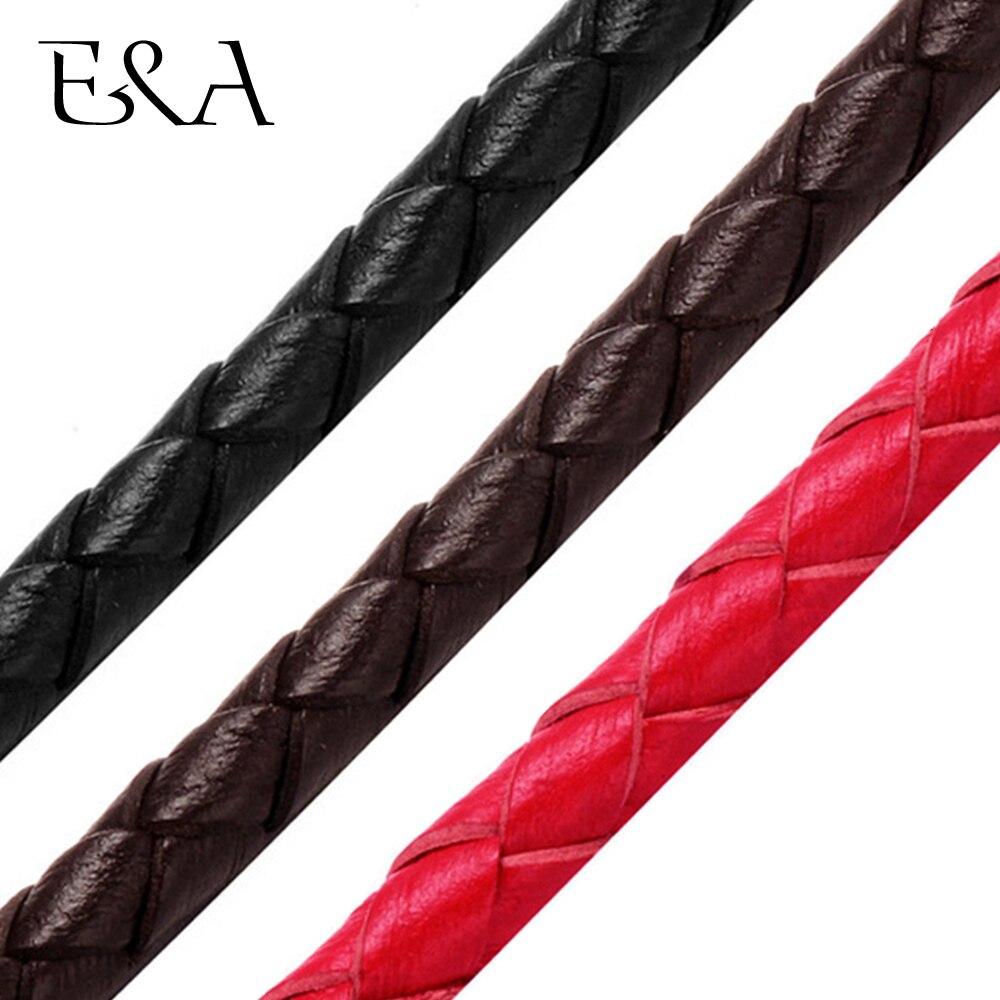 Круглый Плетеный кожаный шнур 6 мм 8 мм, веревка для женщин и мужчин, браслет для рукоделия, изготовление ювелирных изделий, аксессуары для рукоделия, пандо|Ювелирная фурнитура и компоненты|   | АлиЭкспресс