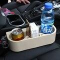 Coche Universal ABS vehículo titulares caja para la taza del coche del teléfono móvil de plástico de múltiples funciones del organizador del bolso del almacenaje del coche soporte móvil