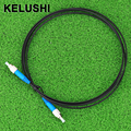 KELUSHI 2M FTTH Fiber Optic Drop Cable Patch Cord FC to FC Simplex Singlemode FC-FC 6.5Ft SM Fiber Optic Jumper Cable
