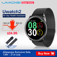 UMIDIGI Uwatch2 Smart Watch For Andriod,IOS 1.33' Full Touch