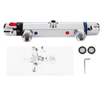Thermostatic Shower Mixer Bar Replacement Valve Thermostatic Mixer Valve Wall Mounted Shower Faucet Hand Sprayer Control Valve цена 2017