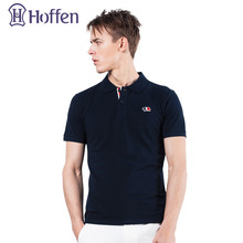 Hoffen New Arrivals Embroidery Polo Shirt Men Turn Down Collar Short Sleeve Polo Shirts Casual Solid