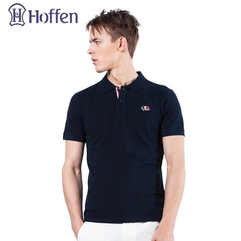 Hoffen New Arrivals Embroidery font b Polo b font Shirt font b Men b font Turn