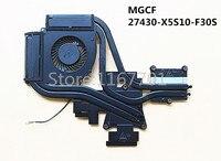 New Laptop/Notebook GPU/CPU Cooling Radiator Heatsink&Fan for Gigabyte AORUS X5 X5S MGCF 27430 X5S10 F30S DFS2000050D0T FGCF