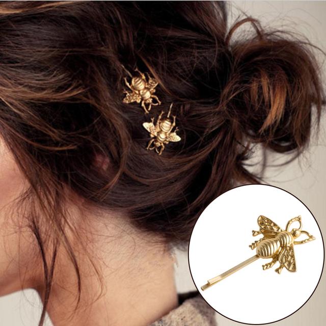 1 or 2 Piece Fashion Bee Hair Clip