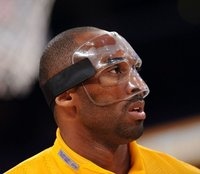 Transparent Basketball Protection Full Mask Football Mask Sports Medical Face Nose Eye Cheek Protecting Mask